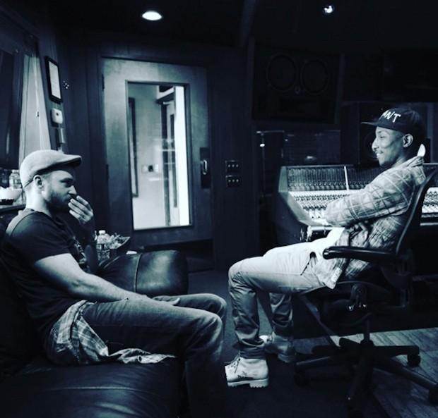 Justin Timberlake and Pharrell