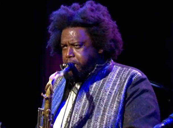 Watch Kamasi Washington Talk Jazz & Hip-Hop, Perform On Charlie Rose