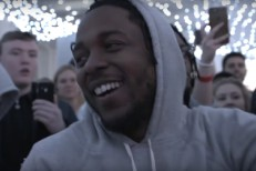 Watch Kendrick Lamar Freestyle With A Bunch Of Kids In Manchester