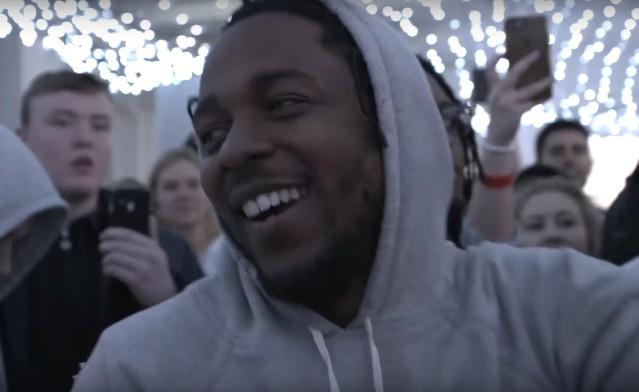 Kendrick Lamar in Manchester