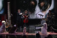 Watch Laurie Anderson Perform Her Music For Dogs On <em>Colbert</em>