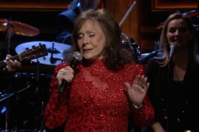 Loretta Lynn on The Tonight Show