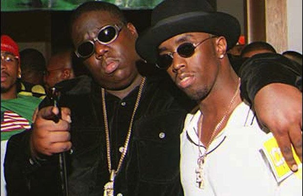 Puff Daddy and Biggie Smalls