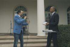 Lin-Manuel Miranda & Barack Obama