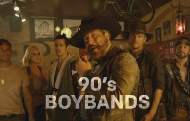 Here's The Trailer For That Ridiculous Zombie Western Starring '90s Boy Bands