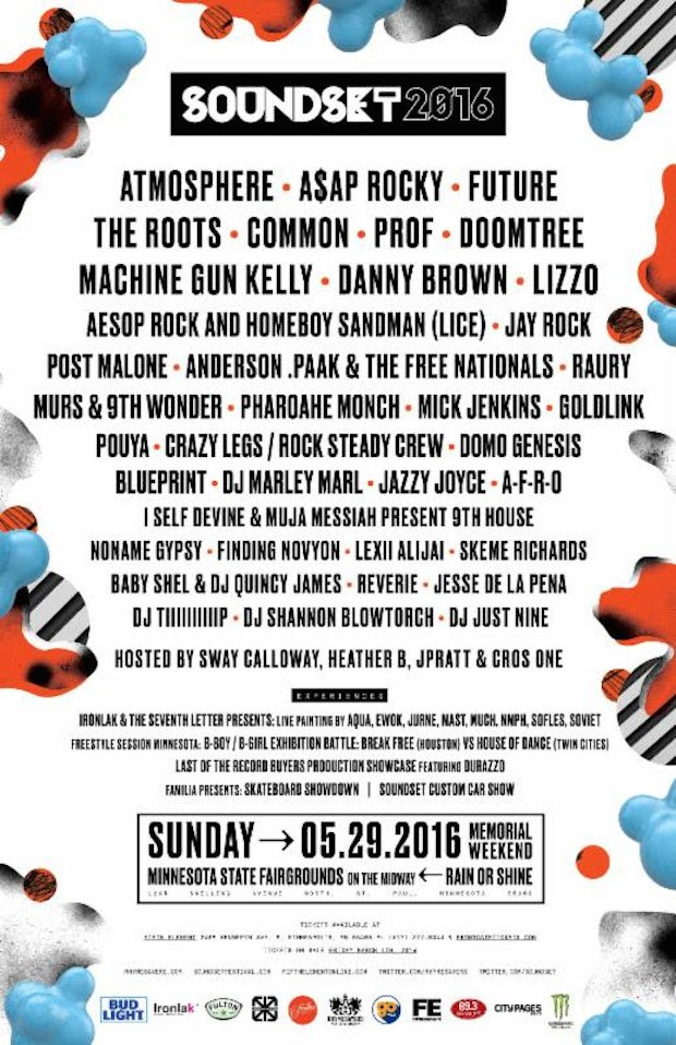 Soundset 2016 Lineup Stereogum