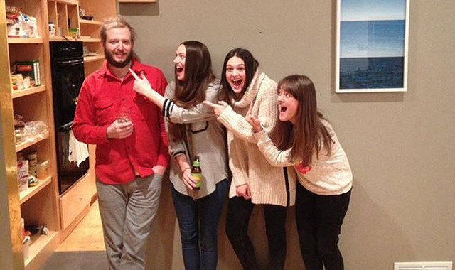 The Staves and Bon Iver