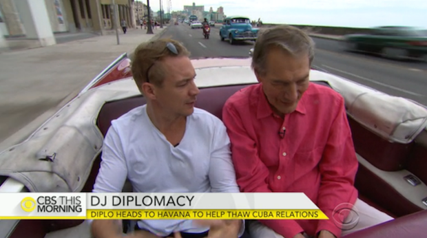 Watch Diplo Tour Cuba With Charlie Rose