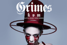"Grimes - ""Kill V. Maim (Little Jimmy Urine Remix)"""