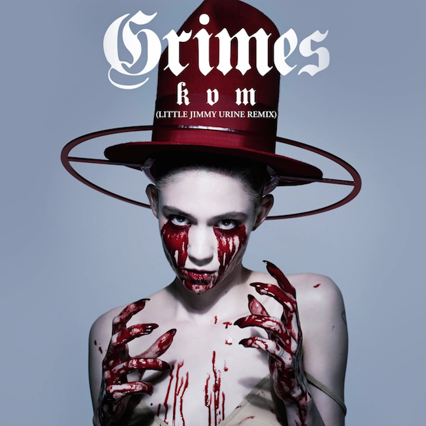 "Grimes - ""Kill V. Maim (Little Jimmy Urine Remix)"""
