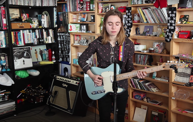"Watch Julien Baker Play New Song ""Funeral Pyre"""
