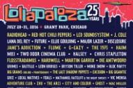 Lollapalooza 2016 Lineup