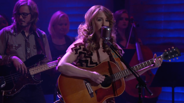 """Watch Margo Price Turn The """"Hands Of Time"""" On Conan"""