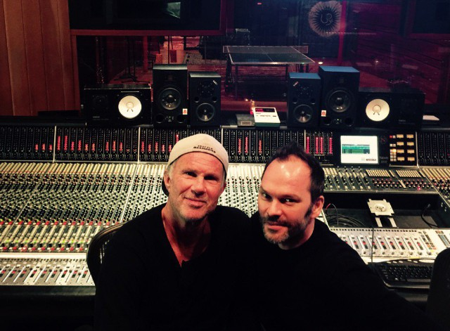 Nigel Godrich & Chad Smith