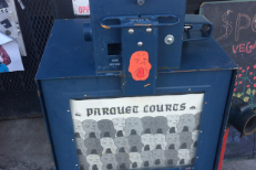 Parquet Courts Promote New Album With Newspaper Vending Machine