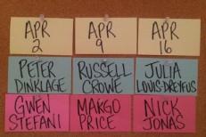 SNL's April Musical Guests: Gwen Stefani, Margo Price, Nick Jonas