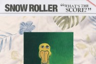 Stream Snow Roller <em>What&#8217;s The Score?</em> (Stereogum Premiere)
