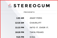 Stereogum Official SXSW Showcase 2016