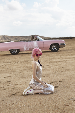 Grimes Is The Face Of Stella McCartney's New Perfume