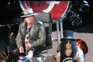 Axl Rose Borrows Former Adversary Dave Grohl's Motorized Throne