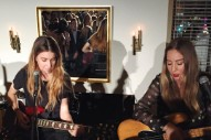 "Watch Haim Cover Fleetwood Mac's ""Dreams"" At Girls To The Front Benefit"