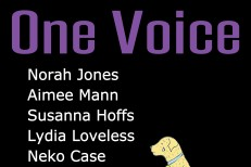 "Norah Jones, Aimee Mann, Susanna Hoffs, Lydia Loveless, Neko Case, Kathryn Calder, & Brian May – ""One Voice"""