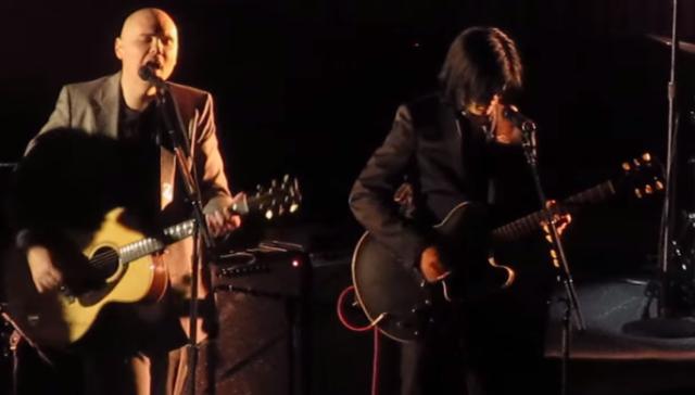 Billy Corgan and James Iha