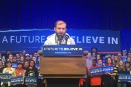 Watch Justin Vernon Speak At A Bernie Sanders Rally In Eau Claire