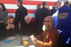 Michael Stipe & Bernie Sanders
