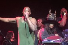 Dave Chappelle and Erykah Badu