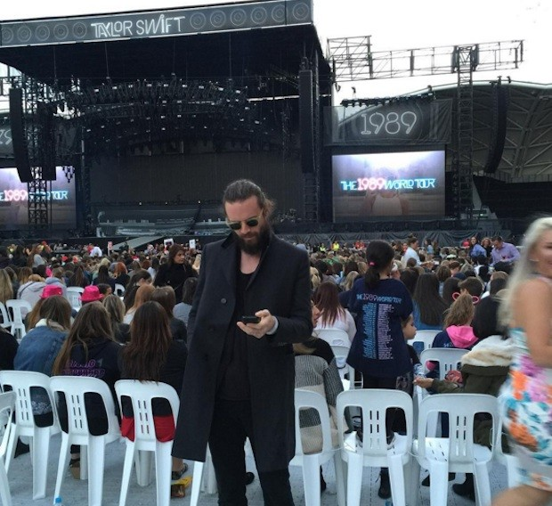 Father John Misty at Taylor Swift