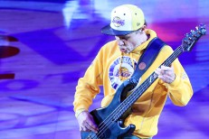 Watch Flea's Bass-Solo National Anthem Before Kobe Bryant's Final Game
