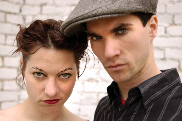 The Dresden Dolls Portrait Session at The Tabernacle in Atlanta - May 22, 2004