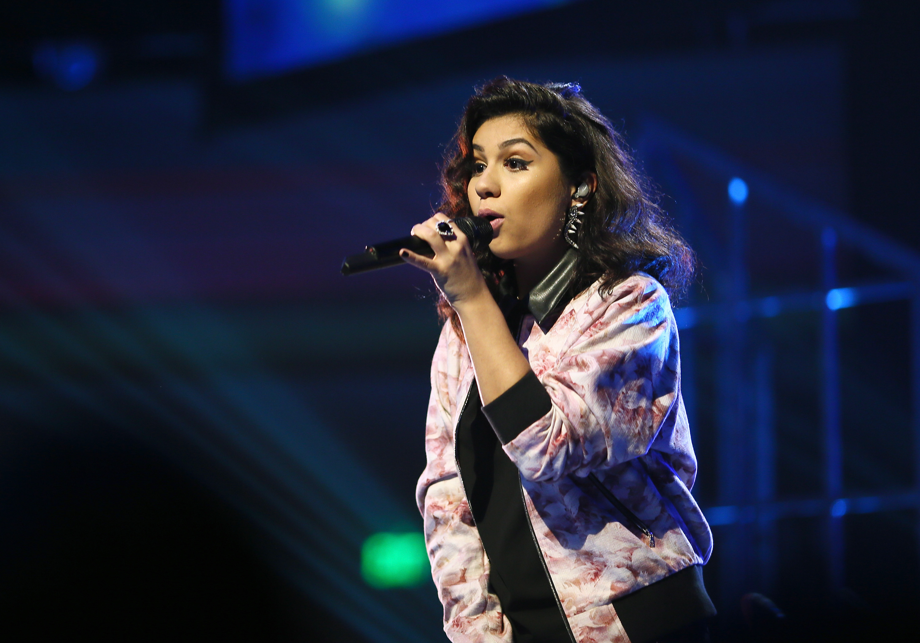 LOS ANGELES, CA - SEPTEMBER 17: Recording artist Alessia Cara performs onstage VH1's 5th Annual Streamy Awards at the Hollywood Palladium on Thursday, September 17, 2015 in Los Angeles, California. (Photo by Mark Davis/Getty Images for Dick Clark Productions)