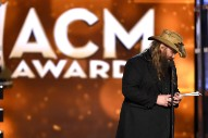Chris Stapleton Wins Big At ACMs, Everyone Takes Credit