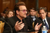 Bono Tells US Senate How To Defeat ISIS, Says Amy Schumer Can Help