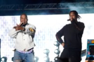 Watch Kanye West Join A$AP Rocky And Jack Ü, Race Tyler The Creator At Coachella