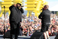 "Run The Jewels Take Coachella With New Song ""Scenes,"" A Bernie Sanders Shoutout, And Many Surprise Guests"