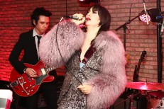 Yeah Yeah Yeahs Reunite To Cover David Bowie & Lou Reed At Mick Rock Party