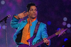 Prince At Super Bowl XLI