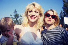 Kurt Cobain, Courtney Love, & Frances Bean Cobain