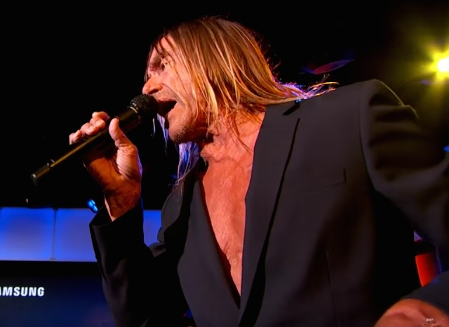 Iggy Pop on Kimmel