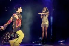Jennifer Hudson and Prince