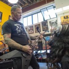Watch Metallica's Full Record Store Day Set At Berkeley's Rasputin Music