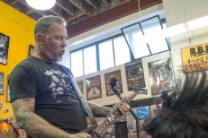 Metallica at Record Store Day
