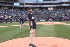 Watch Chance The Ambassador Throw Out The First Pitch At Tonight's White Sox Game