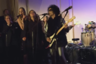 Watch Prince&#8217;s Previously Unreleased <em>SNL 40</em> Afterparty Performance Backed By Various Celebrities