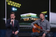 Watch Sturgill Simpson & Stephen Colbert Pitch A New Waffle House Jingle