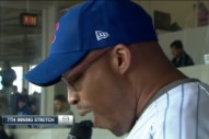 "Watch Warren G's 'Take Me Out To The Ball Game"" Get Booed At Today's Cubs Game"