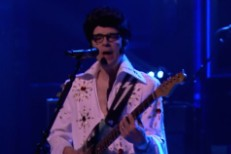 Watch Weezer Play <em>The Tonight Show</em>, With Rivers Cuomo In Elvis Costume